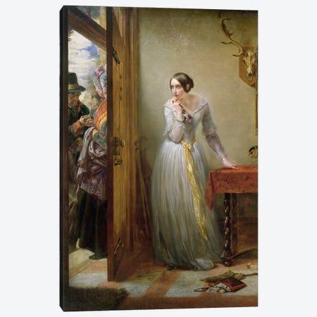 Palpitation, 1844  Canvas Print #BMN982} by Charles West Cope Canvas Art Print