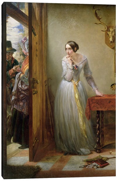 Palpitation, 1844  Canvas Art Print