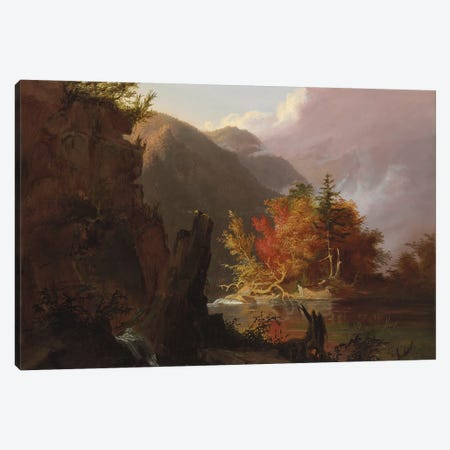 View in Kaaterskill Clove, 1826  Canvas Print #BMN9836} by Thomas Cole Art Print