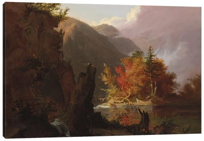 View in Kaaterskill Clove, 1826  Canvas Art Print