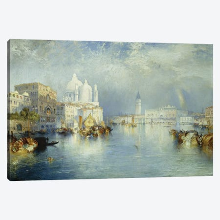 Grand Canal, Venice, 1903  Canvas Print #BMN9842} by Thomas Moran Art Print