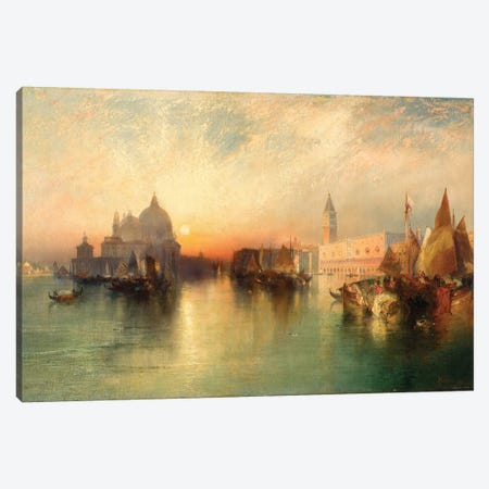View of Venice, 1895  Canvas Print #BMN9844} by Thomas Moran Canvas Art