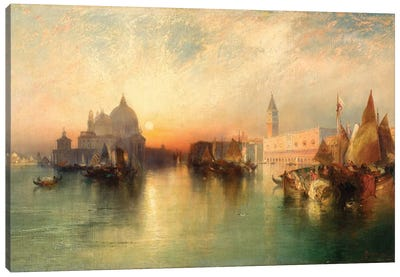 View of Venice, 1895  Canvas Art Print