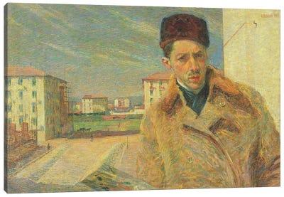 Self Portrait, 1908  Canvas Art Print