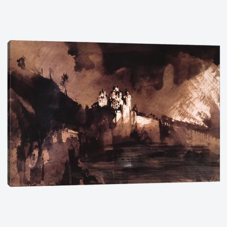 Castle  Canvas Print #BMN9859} by Victor Hugo Canvas Artwork