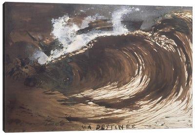 My Destiny, 1857  Canvas Art Print