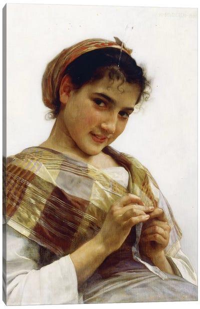 A Breton Girl, 1889  Canvas Art Print