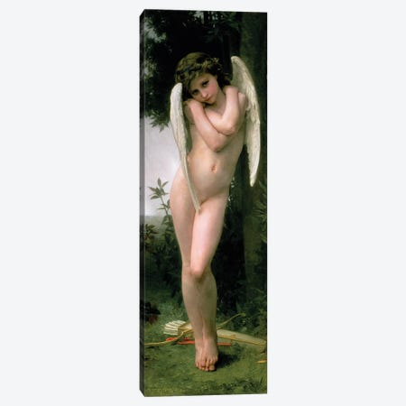 Cupidon, 1891  Canvas Print #BMN9875} by William-Adolphe Bouguereau Canvas Print
