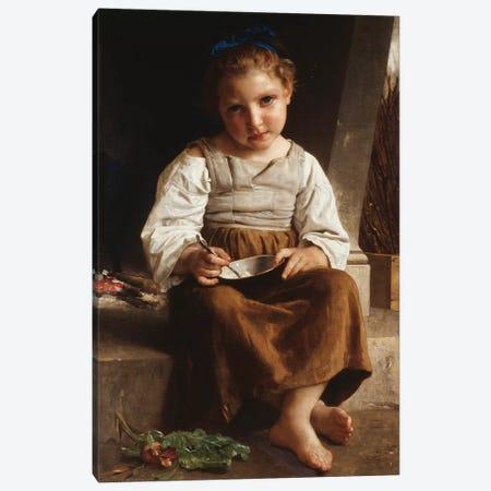Gruel , 1872  Canvas Print #BMN9877} by William-Adolphe Bouguereau Canvas Art Print