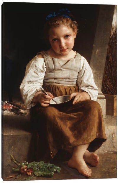 Gruel , 1872  Canvas Art Print