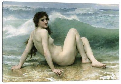 La Vague, 1896  Canvas Art Print
