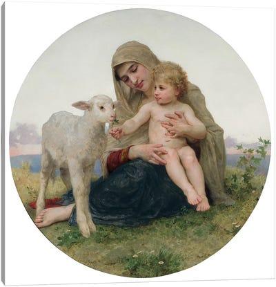 La Vierge avec l'Agneau, 1903  Canvas Art Print
