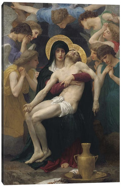 Pieta, 1876  Canvas Art Print