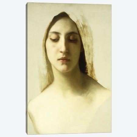 Study for 'La Charite', c.1878  Canvas Print #BMN9883} by William-Adolphe Bouguereau Canvas Print