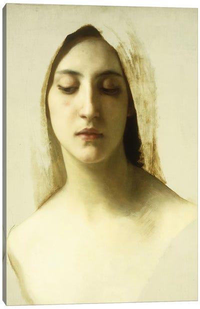 Study for 'La Charite', c.1878  Canvas Art Print