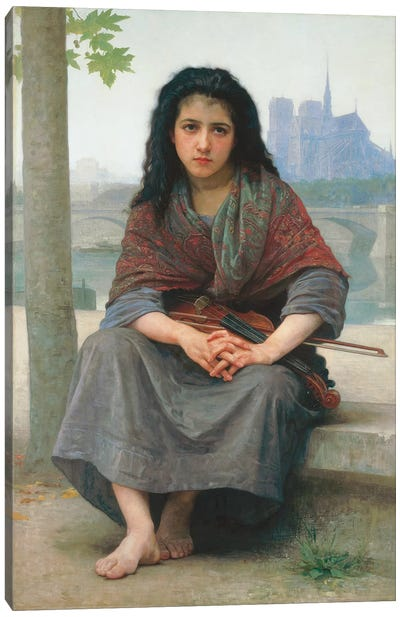 The Bohemian, 1890  Canvas Art Print