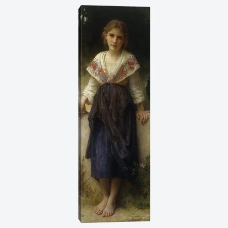 Un Moment de Repos, 1900  Canvas Print #BMN9887} by William-Adolphe Bouguereau Canvas Art
