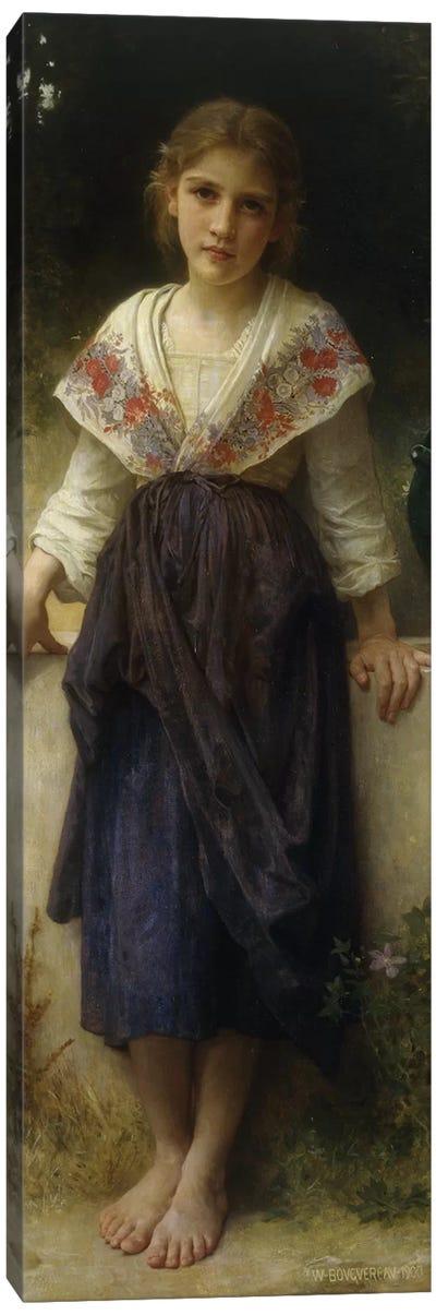 Un Moment de Repos, 1900  Canvas Art Print
