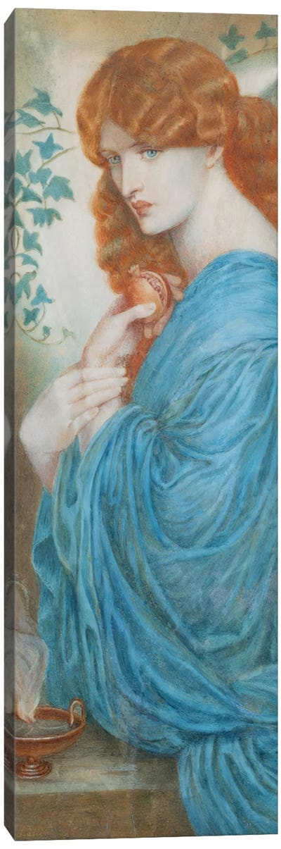 Proserpine after Gabriel Dante Rossetti, c.1890 Canvas Art Print
