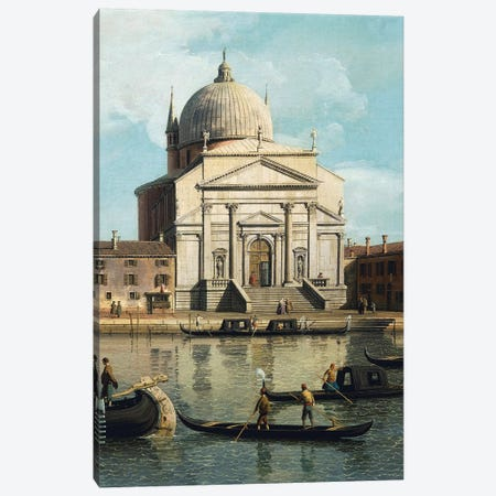 The Church of Redeemer and St James Canvas Print #BMN9893} by Canaletto Canvas Art
