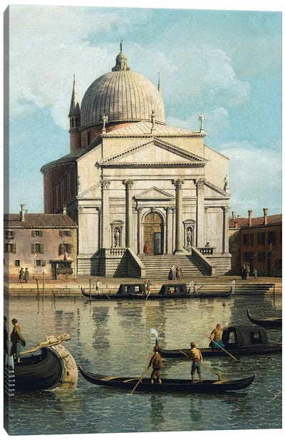 The Church of Redeemer and St James Canvas Art Print