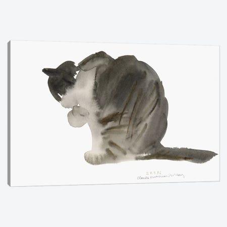 Cat, 1985  Canvas Print #BMN9897} by Claudia Hutchins-Puechavy Art Print