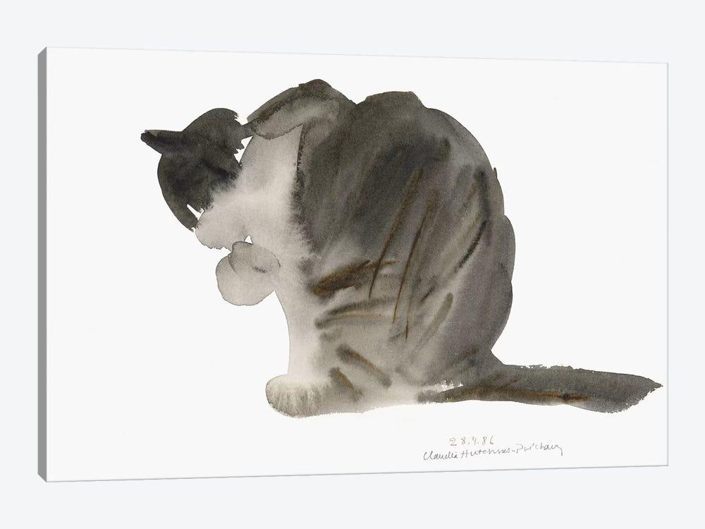 Cat, 1985  by Claudia Hutchins-Puechavy 1-piece Canvas Art Print
