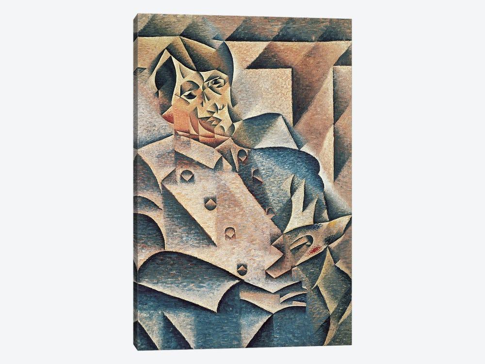 Portrait of Pablo Picasso, 1912 (oil on canvas) by Juan Gris 1-piece Canvas Print