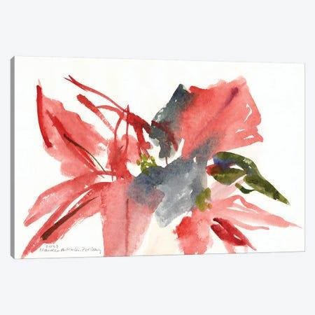 Poinsettia, 2003  Canvas Print #BMN9910} by Claudia Hutchins-Puechavy Canvas Art Print