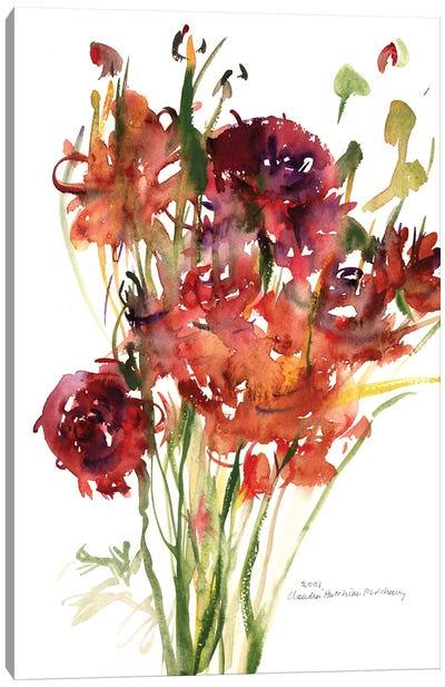 Renoncules, 2001  Canvas Art Print