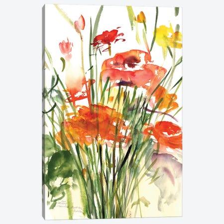 Renoncules, 2001  Canvas Print #BMN9915} by Claudia Hutchins-Puechavy Canvas Art