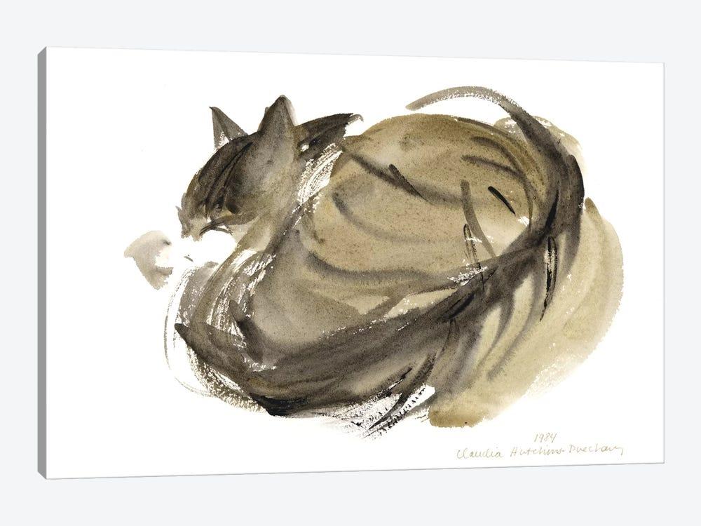 Sleeping Cat, 1985  by Claudia Hutchins-Puechavy 1-piece Canvas Art