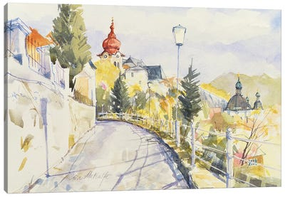 Salzburg Nonntal  Canvas Art Print