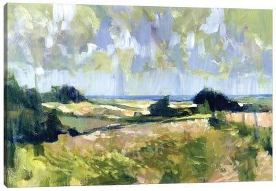 Sutton Downs View, 2007  Canvas Art Print