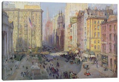 Fifth Avenue, New York, 1913  Canvas Art Print