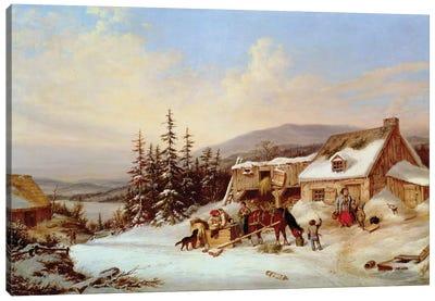 Quebec  Canvas Art Print