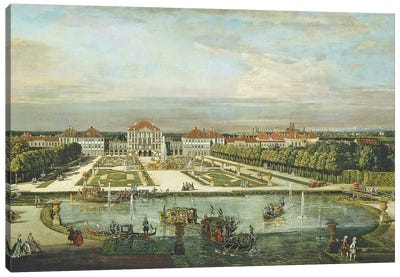 Nymphenburg Palace, Munich, c.1761  Canvas Art Print