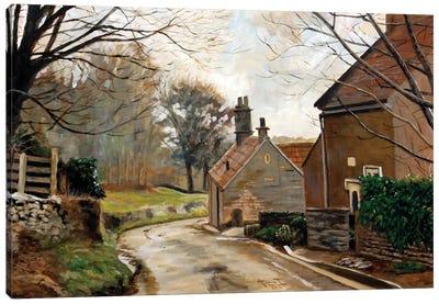 After the Rain, Cotswolds, 2010  Canvas Art Print