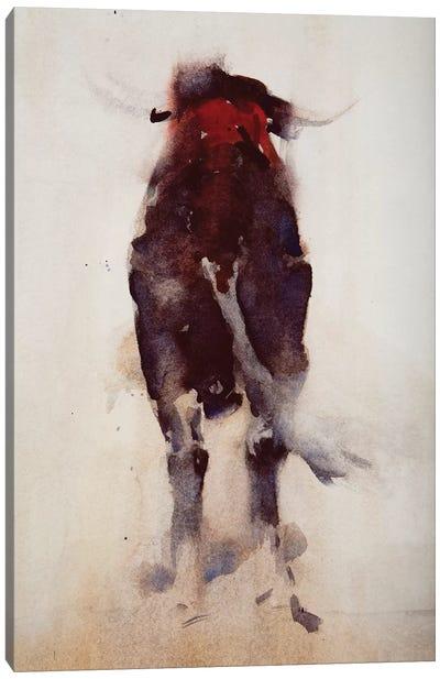 Bull, detail   Canvas Art Print