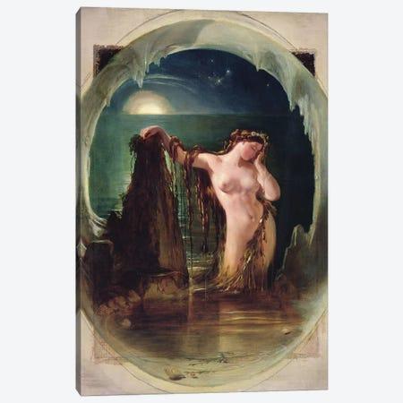 The Origin of the Harp, c.1842  Canvas Print #BMN9952} by Daniel Maclise Canvas Art Print
