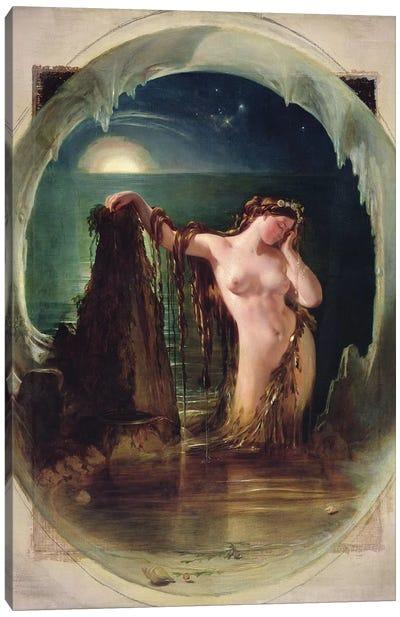 The Origin of the Harp, c.1842  Canvas Art Print