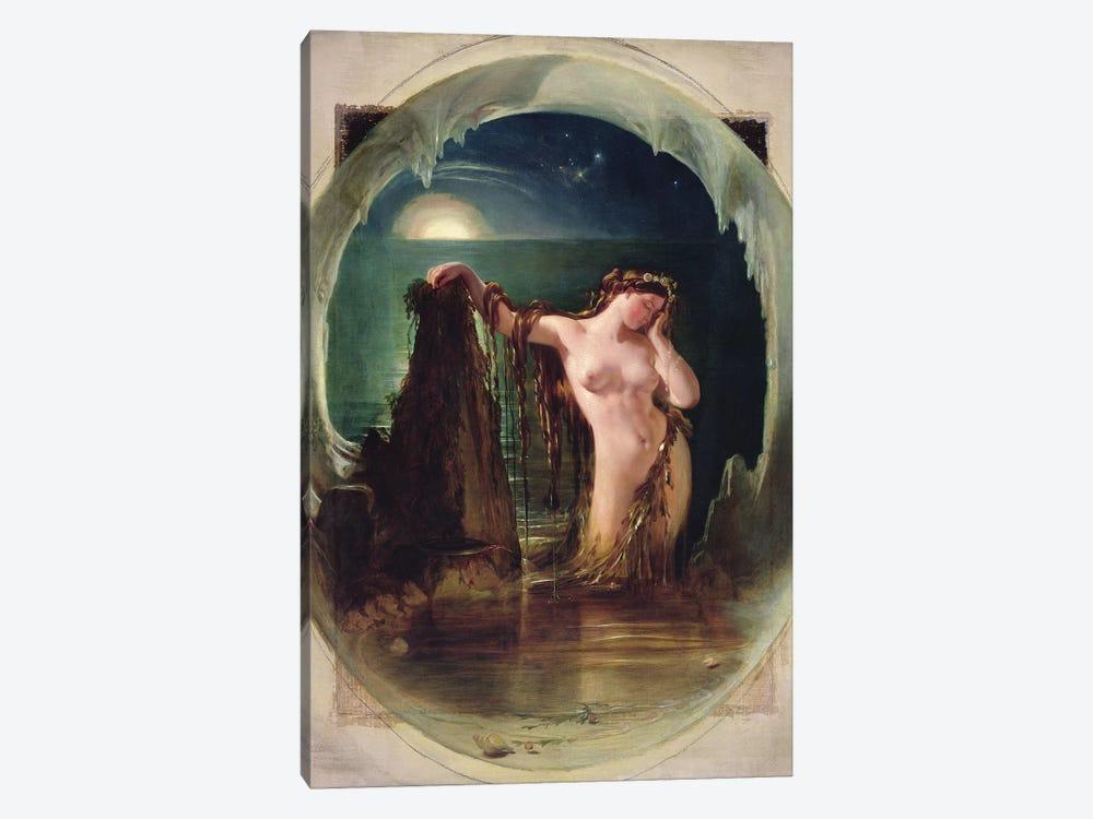 The Origin of the Harp, c.1842  by Daniel Maclise 1-piece Canvas Print