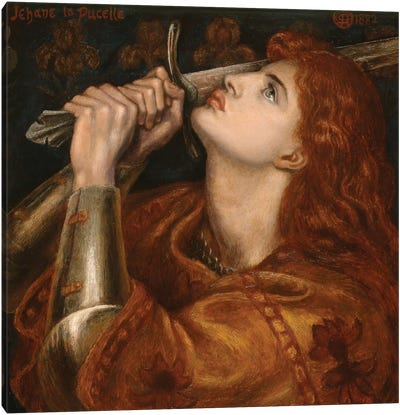 Joan of Arc, 1882  Canvas Art Print