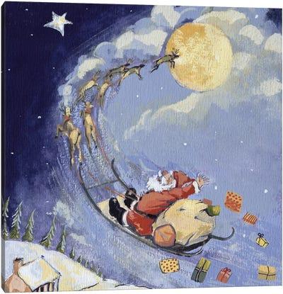 Christmas Night, 1999  Canvas Art Print