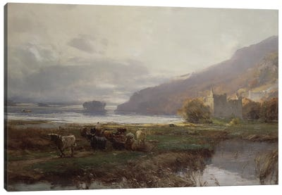 Kilchurn Castle, Lock Awe, 1879  Canvas Art Print