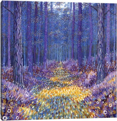 Blue Forest 2, 2012,  Canvas Art Print