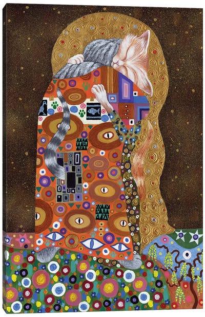 Feline Fulfilment, 2011,  Canvas Art Print
