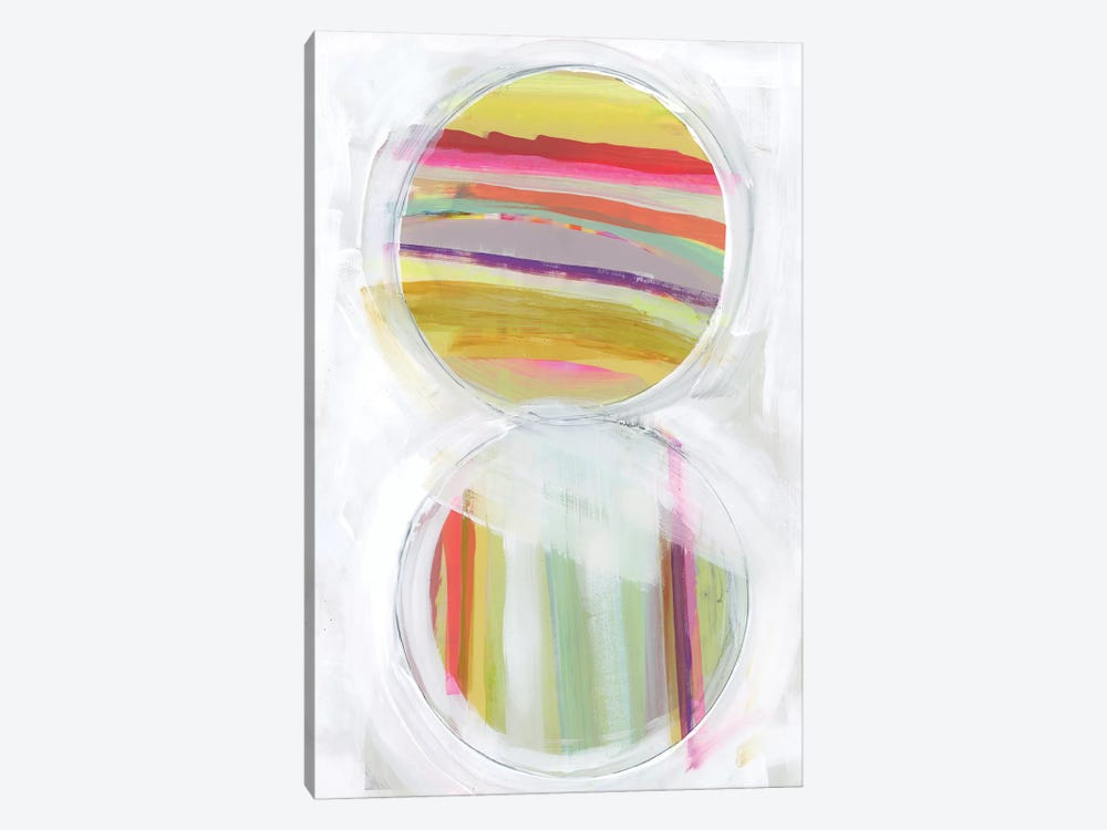 Art in Whites VIII by Bellissimo Art 1-piece Canvas Print