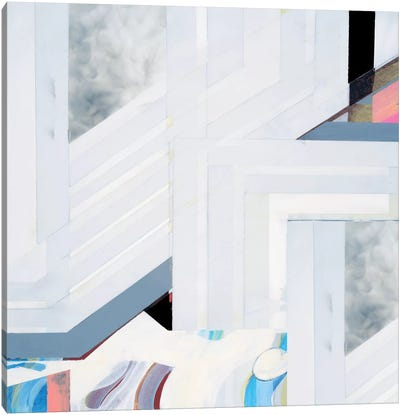 Smoking II Canvas Art Print
