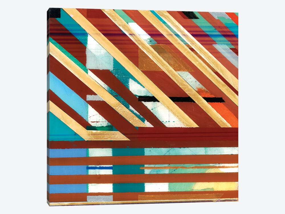 Zig Zag I by Bellissimo Art 1-piece Canvas Wall Art